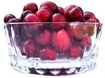 Cranberries are an excellent source of Vitamin C 