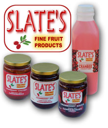 Our cranberry products - no artificial colours, no artificial flavours.